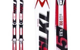 Топ-рейтинг лучших горных лыж для начинающих