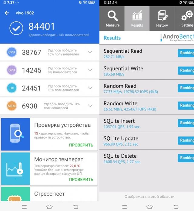 Смартфон vivo y17 - параметры, цена, достоинства и недостатки