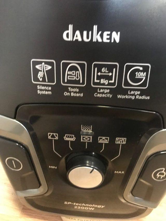 Пылесосы dauken dw320 и dw870: технические характеристики эксплуатация
